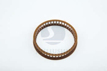 Conical roller bearing cage